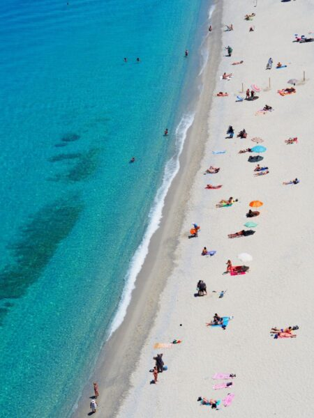 st pete beach from overhead