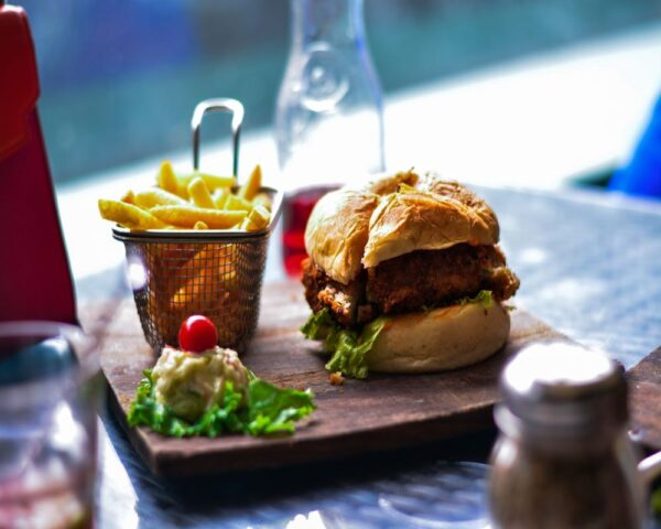 burger from st pete restaurant