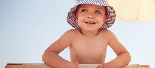kid on madeira beach