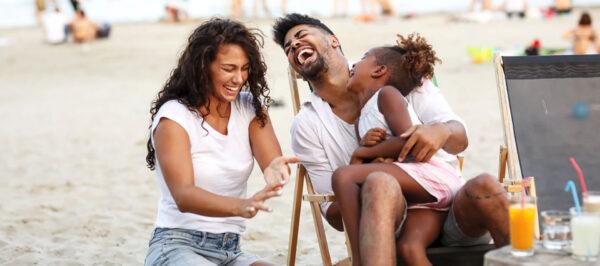 family on madeira beach